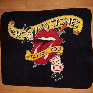 Rare Rolling Stones Tattoo You World Tour Blanket